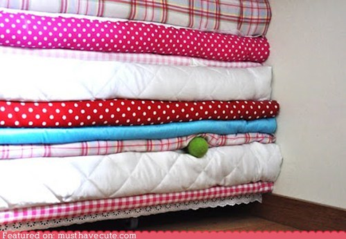 bed decor mattress pea princess story - 5906844416