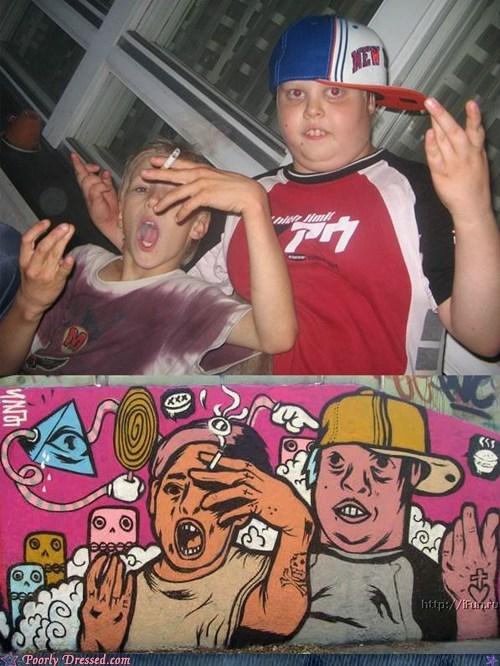 gangsta kids kitchen - 5907047424
