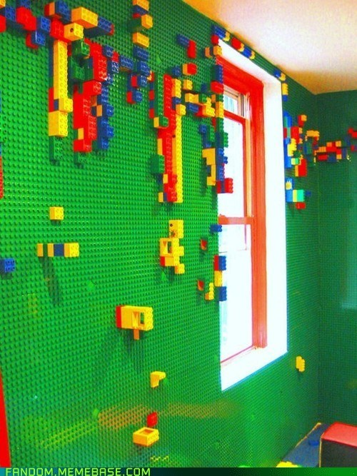 awesome,envy,It Came From the Interwebz,legos,room,wall