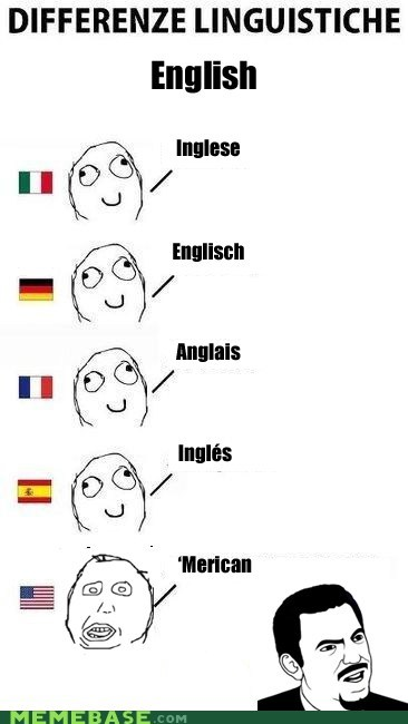america,english,language,Rage Comics