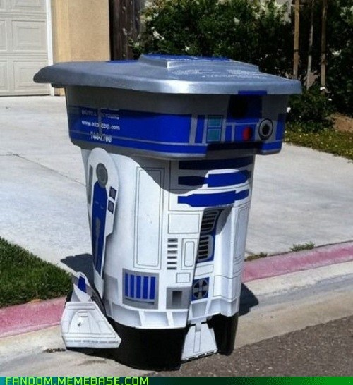 It Came From the Interwebz r2d2 star wars trash can - 5907368448