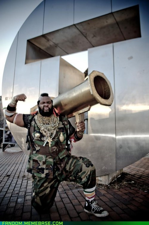 A Team cosplay movies mr t - 5907399936