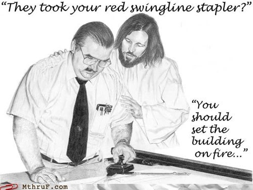 Hall of Fame jesus red stapler swingline - 5907438080