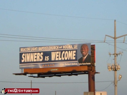 billboard,houma,louisana,michael jordan,sinners