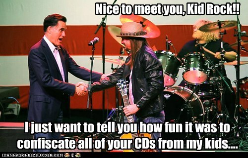 Kid Rock Mitt Romney political pictures Republicans - 5907573760
