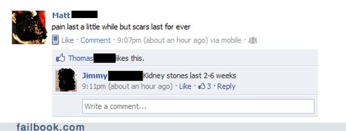 kidney stones,scars