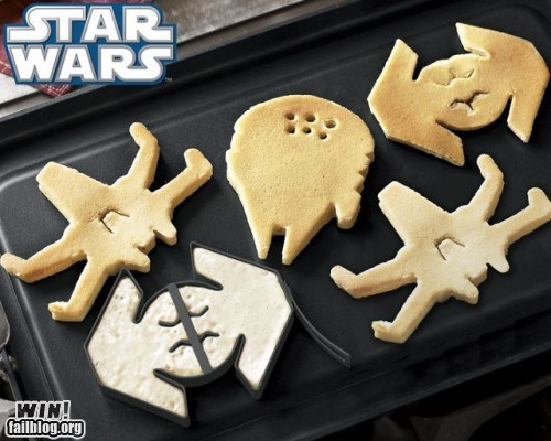 breakfast g rated Hall of Fame mold nerdgasm star wars team breakfast ftw win
