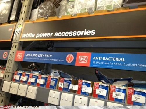 home improvement power accessories white