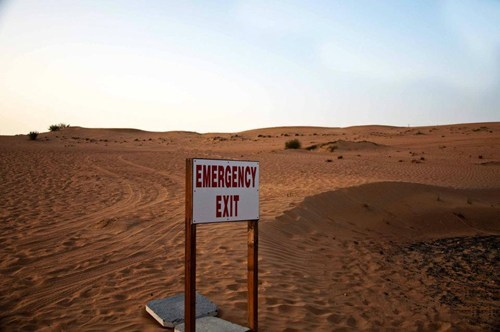 desert exit signs wtf - 5908684800