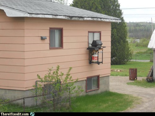 Redneck Window Barbecue