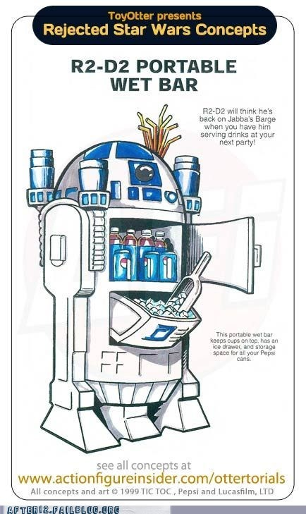 cooler drinks fridge Hall of Fame nerdgasm star wars - 5908852480