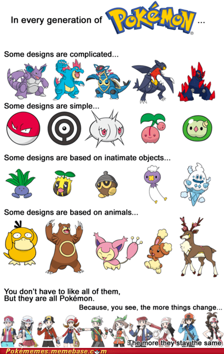 best of week,designs,generations,gotta love em all,Memes,Pokémon