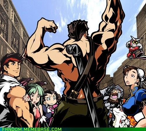 capcom Fan Art mike haggar Street fighter video games - 5910118656