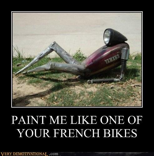 bike hilarious robot wtf - 5910188288