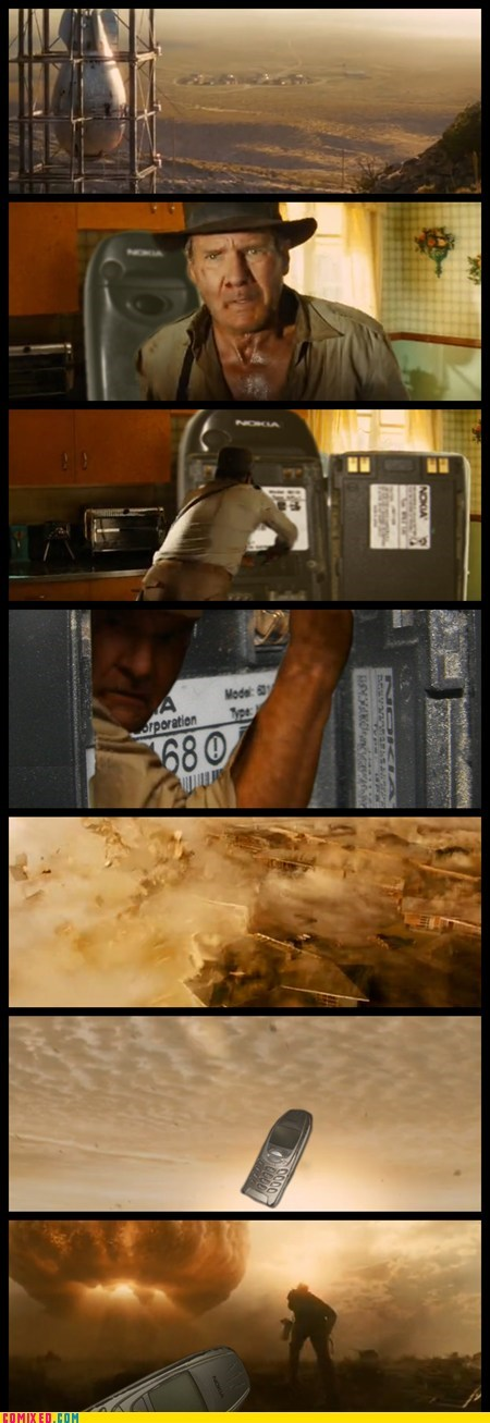 From the Movies indestructible Indiana Jones meme nokia - 5910830336