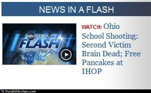 abc news,ihop,news,ohio,pancakes,political pictures,School Shooting
