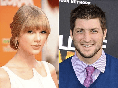 dating,rumors,taylor swift,tim tebow