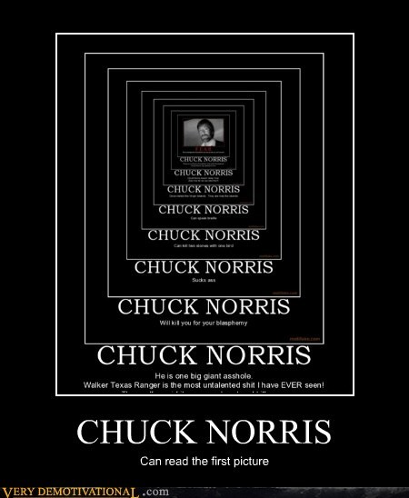 chuck norris first picture hilarious - 5911323136