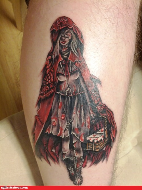 come for your soul demon red riding hood Hall of Fame Little Red Riding Hood zombie - 5911348736