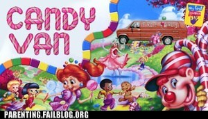 candy land candy van dice roll the dice
