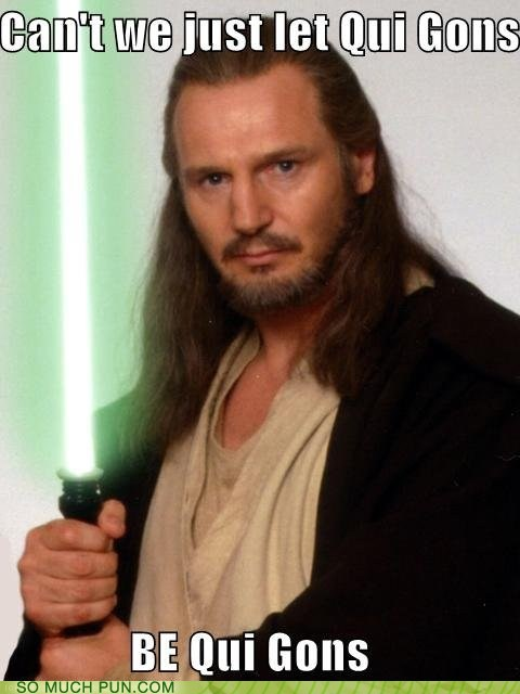 bygones Hall of Fame idiom qui gon jin rhyme rhyming similar sounding star wars - 5911474176