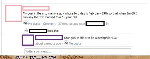 facebook leap year pedobear pedophile - 5911488000