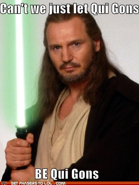 Star Wars - Can't Say No to Liam Neeson