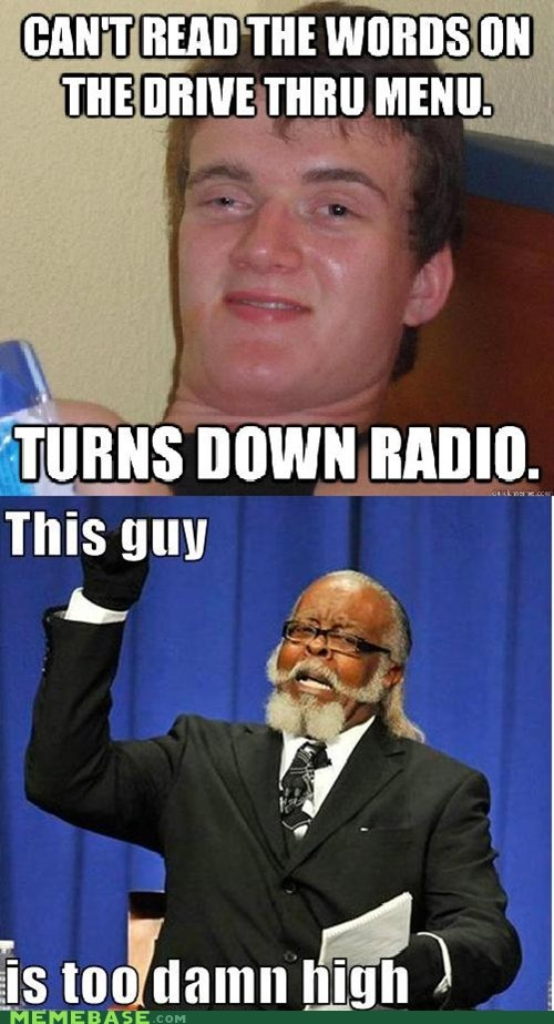 drive thru,jimmy mcmillan,radio,too high,words
