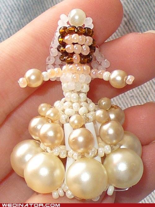 beads bride crafts funny wedding photos - 5911571712