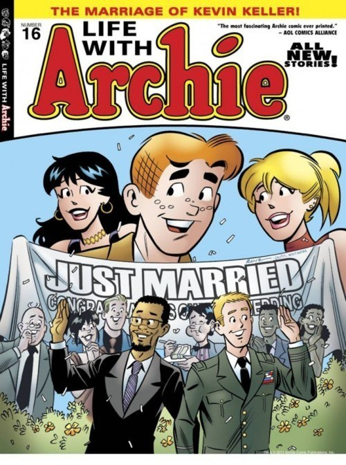 Archie Comics kevin keller LGBT rights life with archie One Million Moms same-sex marriage toys r us