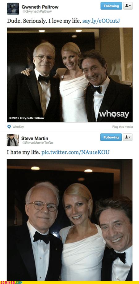 celeb,celebutard,gwyneth paltrow,Steve Martin,twitter