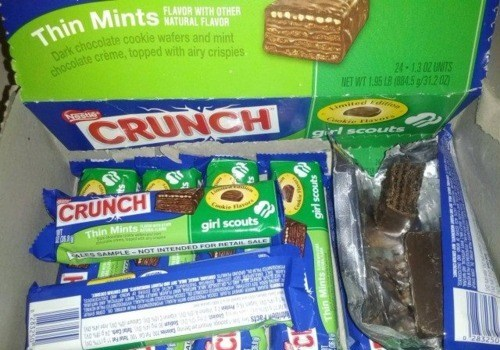 candy bar Follow Up girl scouts nestle - 5911792640
