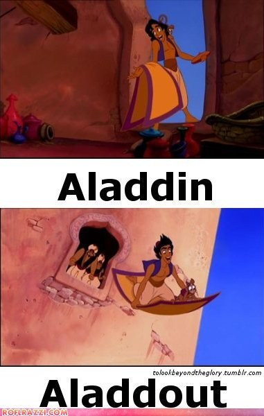 aladdin animation disney funny Movie - 5911831296
