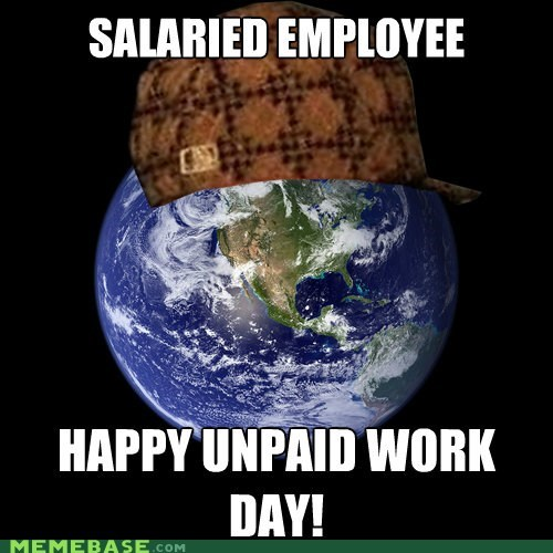 earth,employee,february 29th,salary,Scumbag Steve,work