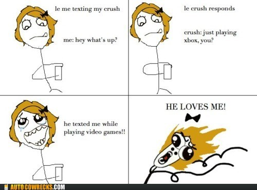 comic dating rage comic relationships video games - 5912054528