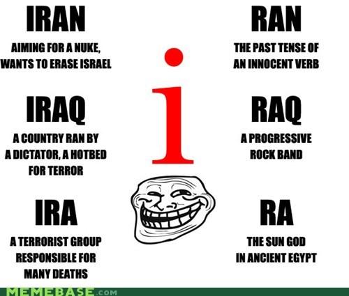 e,I,letters,ran,raq,troll face