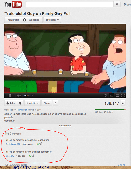 fight,top comments,trololo,youtube