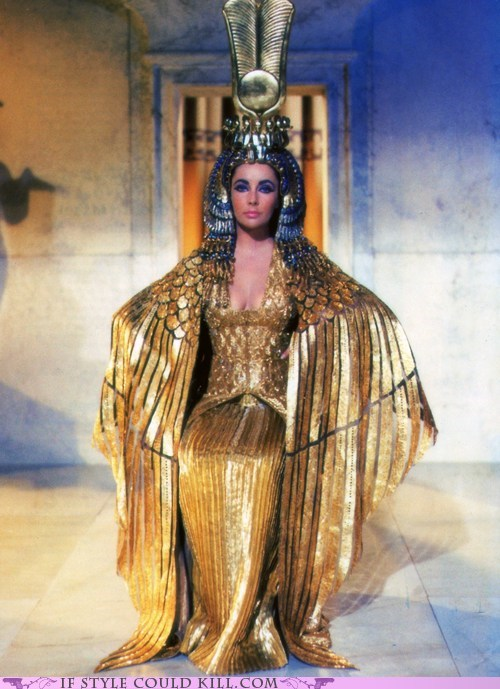 cinema Cleopatra cool accessories costume elizabeth taylor movies - 5912316672