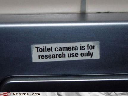 camera,sign,toilet,toilet camera