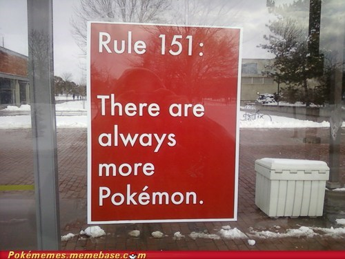 IRL,meme,new pokemon,new rule,sign