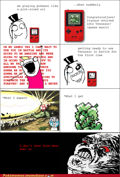 broccoli design Evolve rage comic Rage Comics venusaur - 5912421888