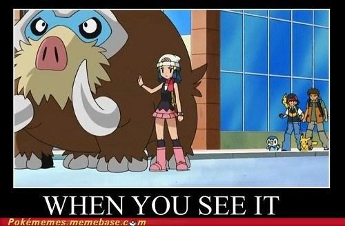 anime best of week dawn mamoswine meme Memes pikachu TV when you see it - 5912440832