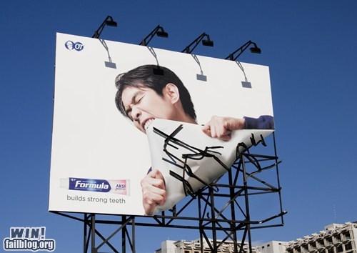 Ad advertisement billboard clever - 5912443648