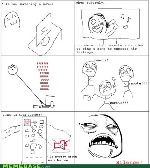 fu computer Movie Rage Comics singing sweet jesus have mercy - 5912705280