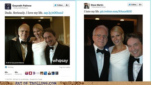 celeb,gwyneth paltrow,Steve Martin,tweet