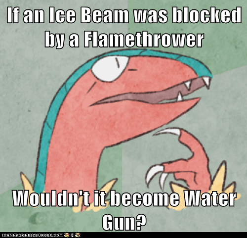 Combos flamethrower ice beam meme Memes moves philosoarcheops water gun - 5912708864