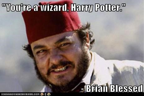 you re a wizard harry potter brian blessed cheezburger