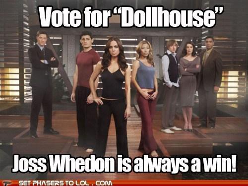 Battle cancelled eliza dushku fox Joss Whedon tv show vote - 5912809984