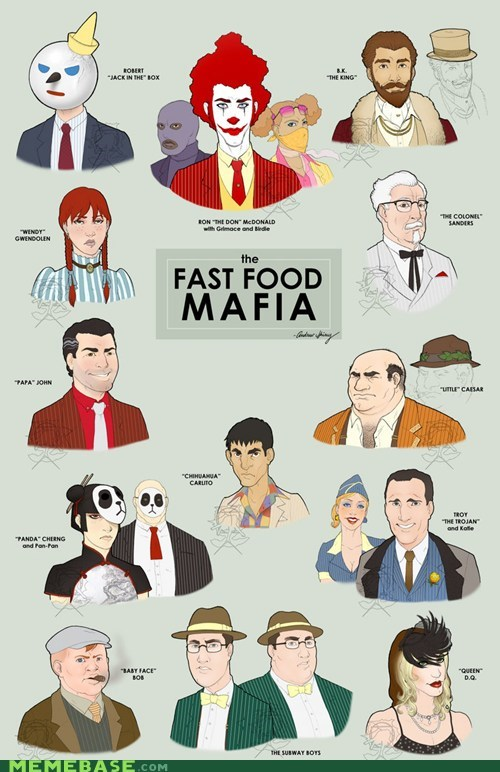 best of week,big mac,fast food,mafia