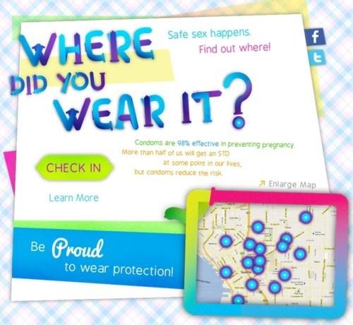Planned Parenthood safe sex Sex Foursquare Smart Condoms - 5913091072